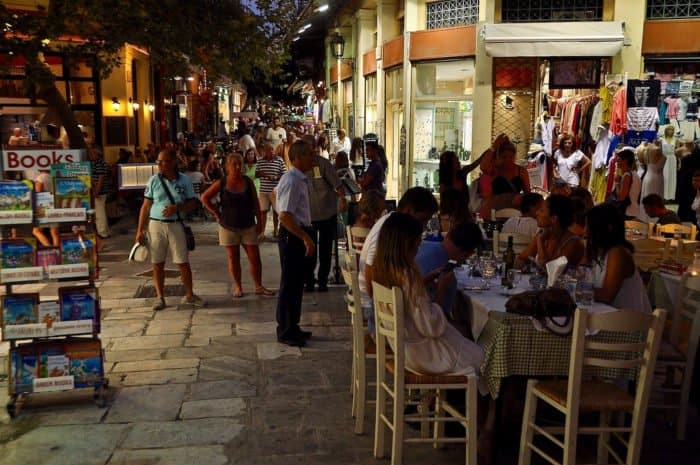 Афины ночью. Фото faungg's photos
