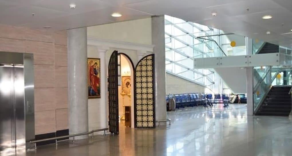 В аэропорту Пулково открылась часовня в честь редкой иконы Богородицы