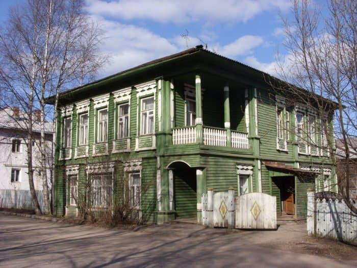Дом купца Кузнецова в Тотьме. Фото Alex Vologda35
