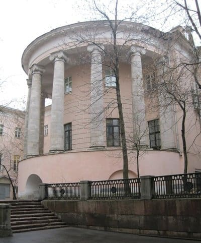 Внешний вид бывшего храма