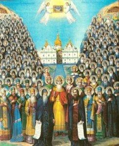 10.4. Собор преподобных отцов Киево-Печерских
