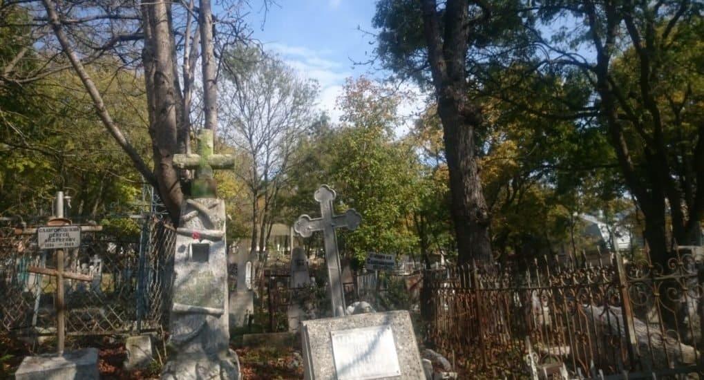 Оперлась рукой о кладбищенский памятник. Что делать?