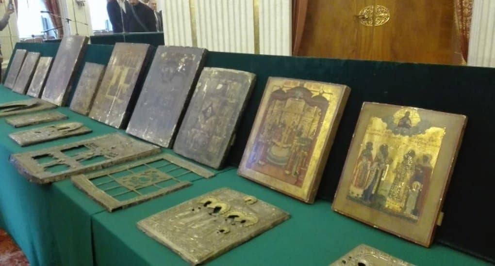 Церкви вернули иконы, вывезенные в Германию в Великую Отечественную