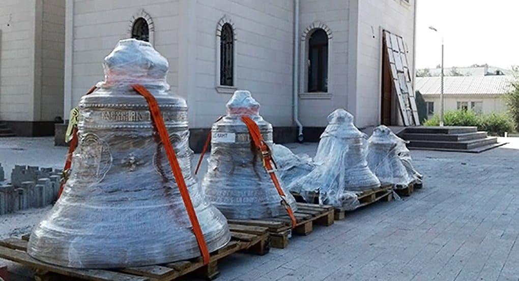 Колокола с цитатами Александра Невского украсят военный храм в Киргизии