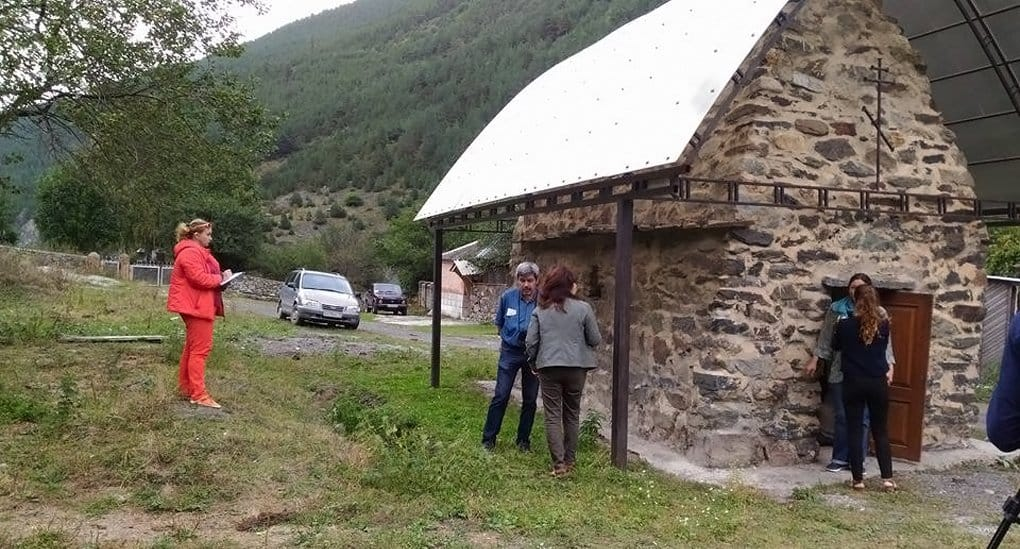 Храм с домонгольскими фресками попытаются сохранить в Северной Осетии