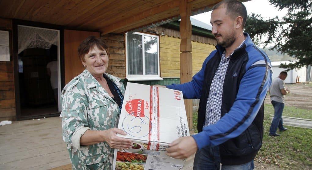 На собранные средства Церковь помогла подтопленным жителям Приморья