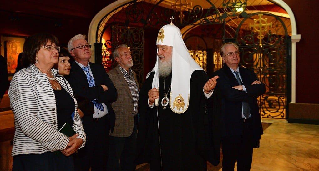 Церковь и музеи едины в деле воспитания души человека, - патриарх Кирилл