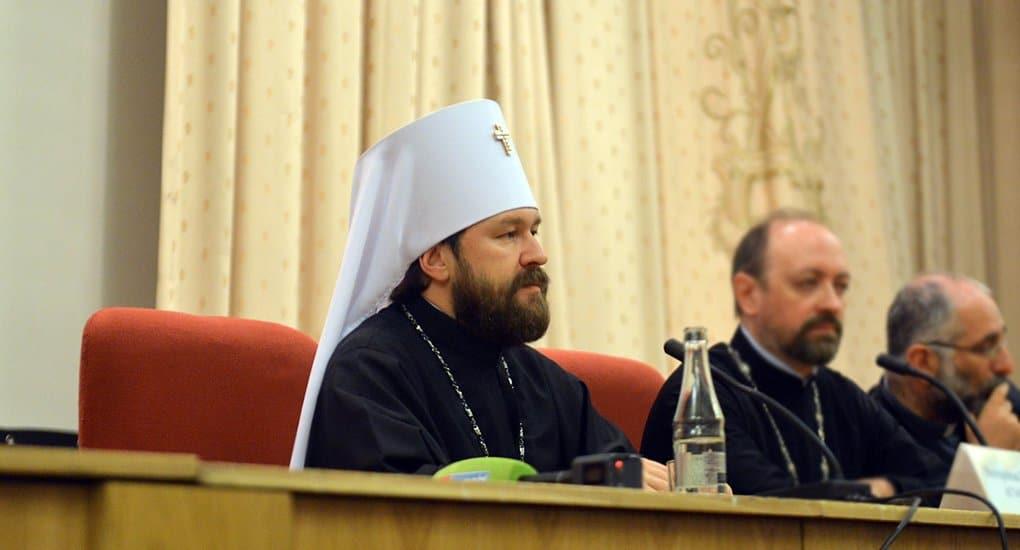 Последние 28 лет явили самый большой рост веры в России, - митрополит Иларион