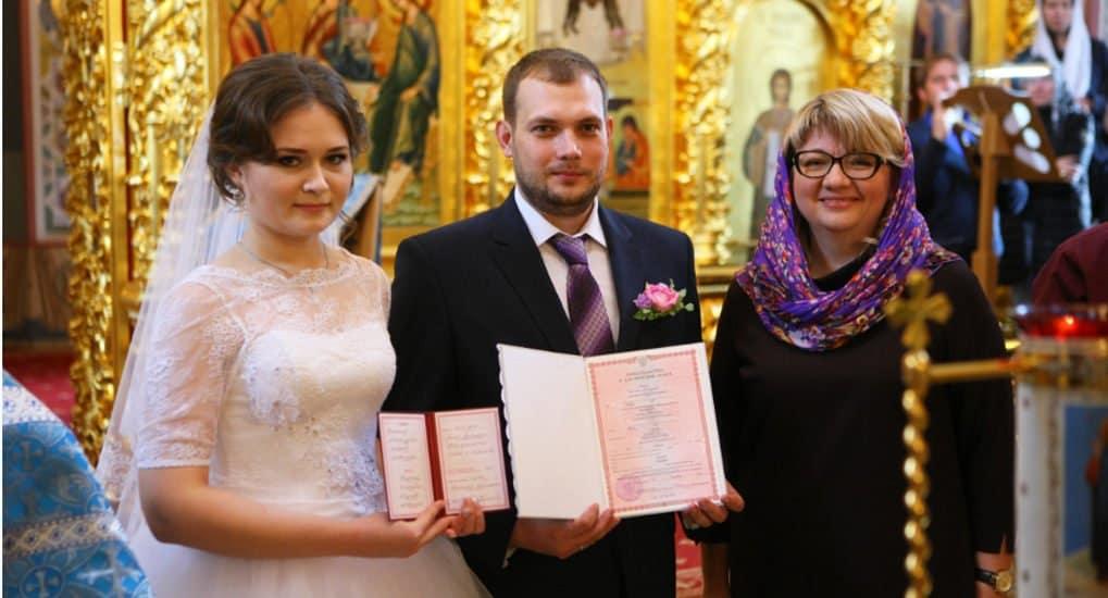 Впервые после 1917-го в России заключили брак прямо в храме