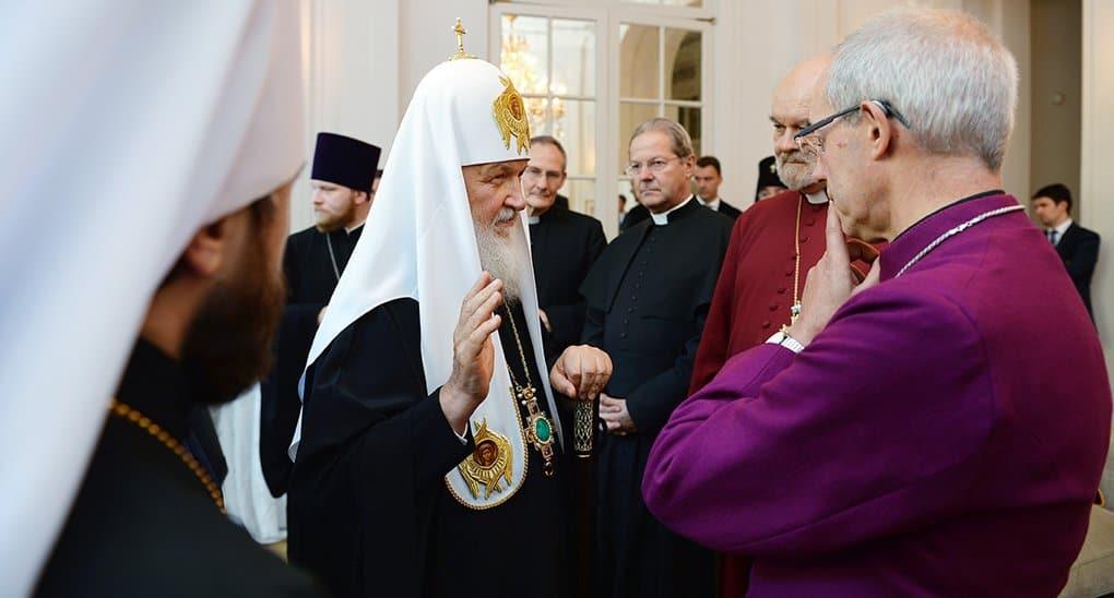 Христианство должно внести вклад в развитие российско-британских отношений, - патриарх Кирилл