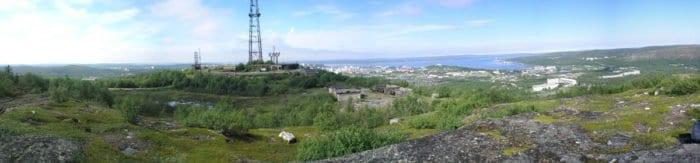Панорама. Гора Маячная. Фото: Вячеслав Лобанов