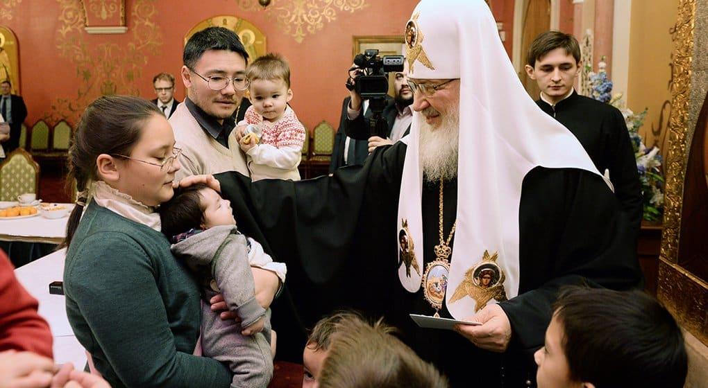 Отношение к семье – индикатор духовного состояния общества, - патриарх Кирилл