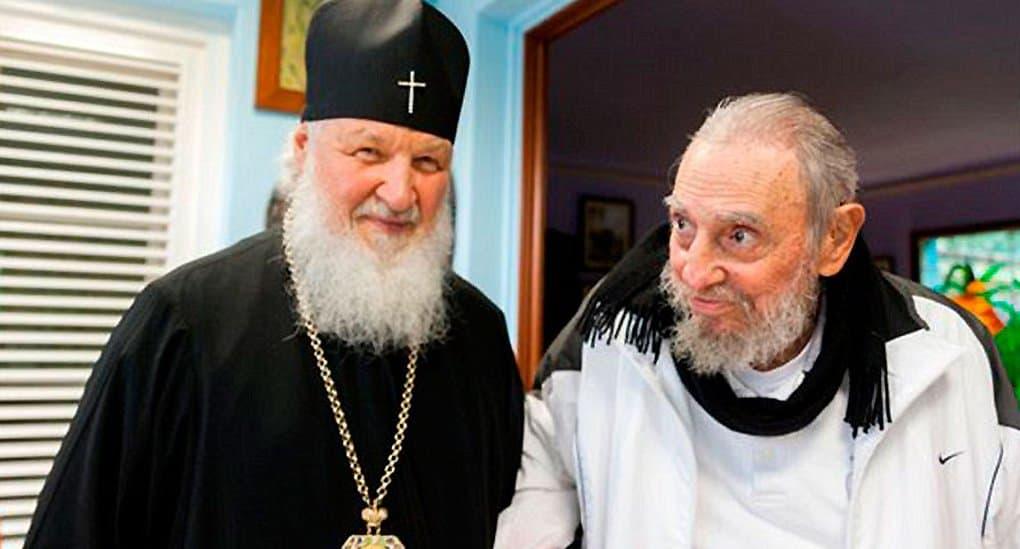 Патриарх Кирилл напомнил, что Фидель Кастро помог построить храм в Гаване