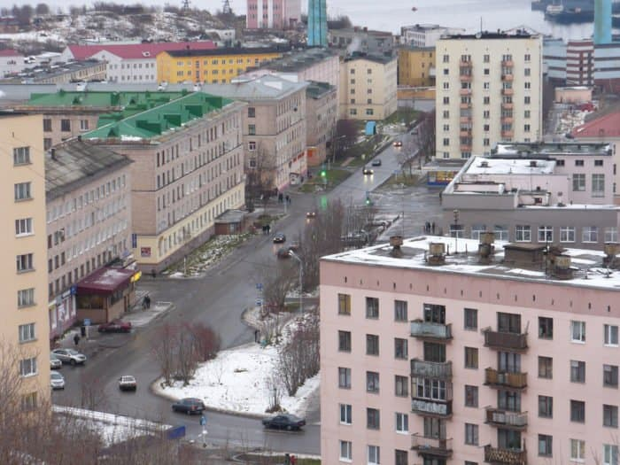 Североморск. Фото: Сергей Шинкарюк