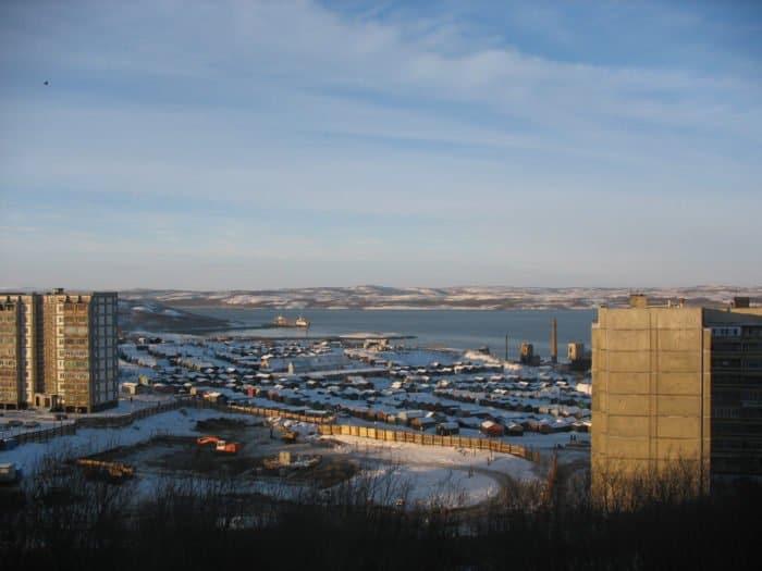 Североморск. Вид на залив. Фото Insider