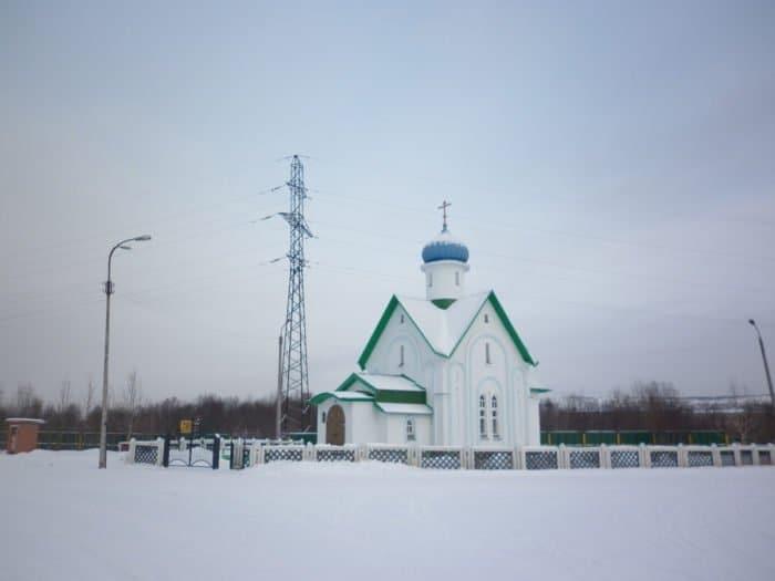 Церковь Варлаама Керетского в Коле
