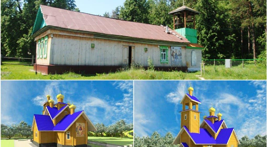 В татарском селе построят храм в память о церкви, затопленной в 1950-ые