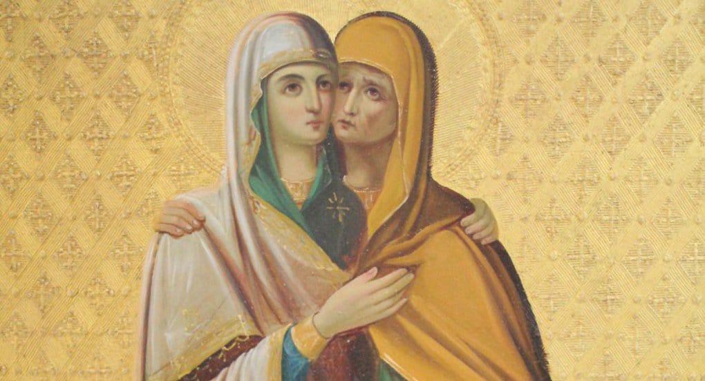 Редкую икону Богородицы привезли на неделю из Иерусалима в Петербург