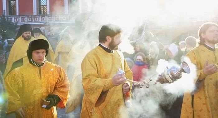 Перед Рождеством 2020 в Москве пройдет крестный ход
