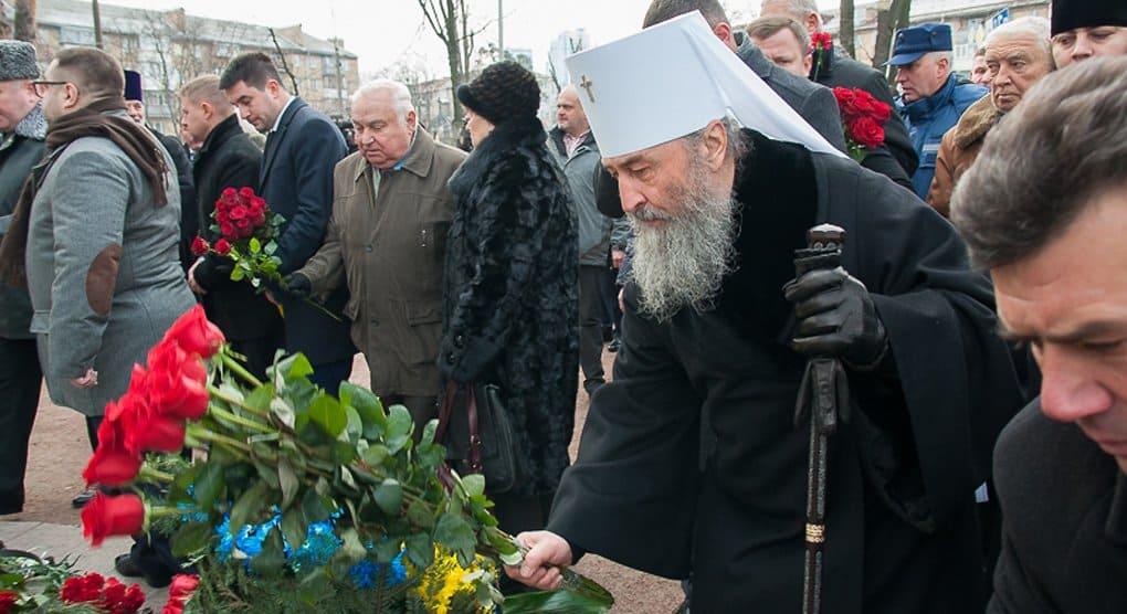 Митрополит Киевский Онуфрий почтил память героев-чернобыльцев