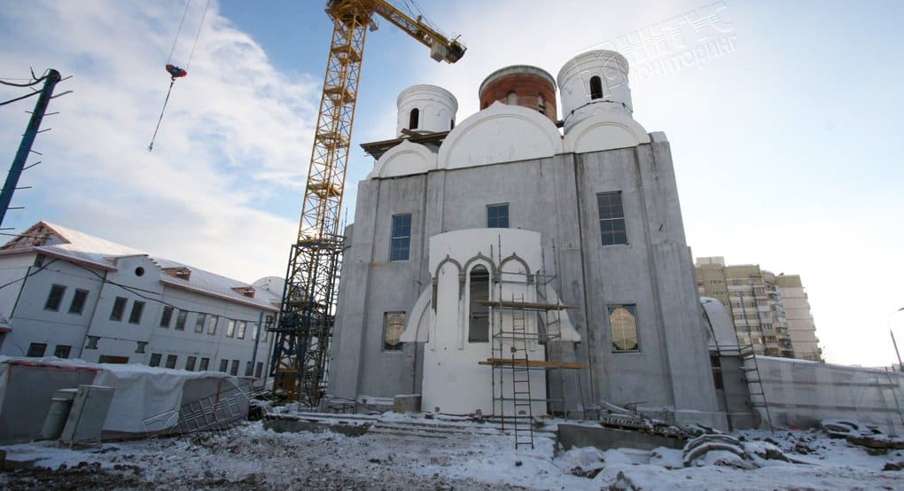 В 2016-м в Москве ввели в эксплуатацию 9 новых храмов