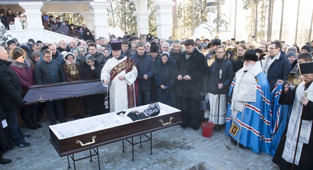 В Беларуси простились с убитой настоятельницей Ксениевского монастыря