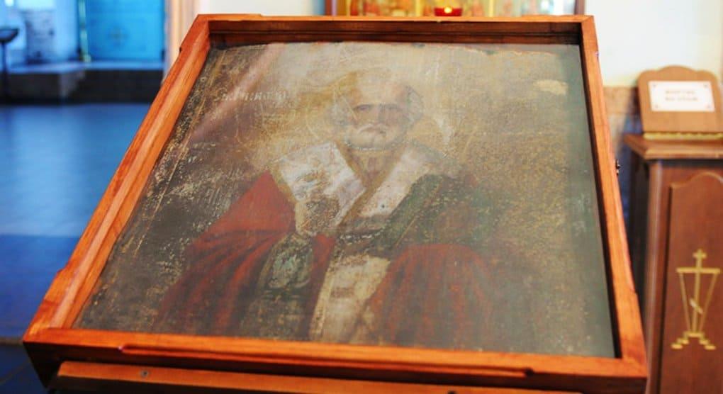 В селе Великорецком на куске железа явился образ Николая Чудотворца
