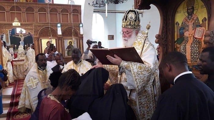 В Александрийской Церкви появились диакониссы