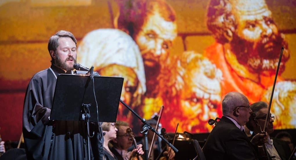 Митрополит Иларион впервые дирижировал на концерте в Европе