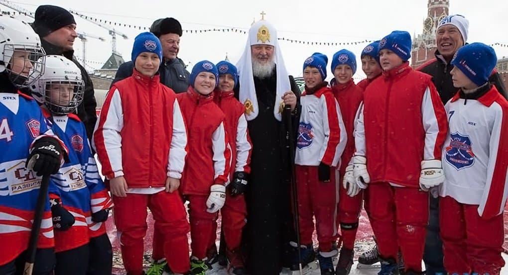 В Москве открывается Кубок Патриарха по русскому хоккею среди детей