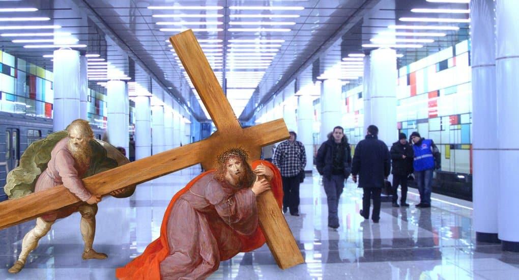 Евангелие Крестопоклонной недели: «возьми крест свой, иследуй заМною»