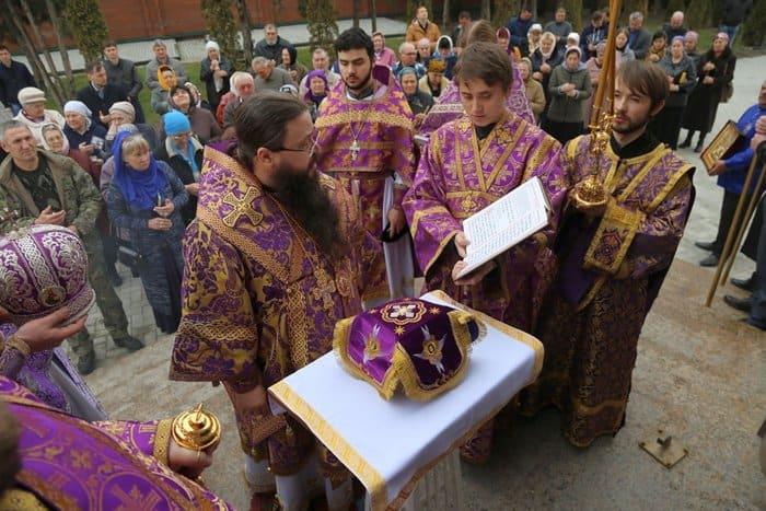 В чеченской станице освятили новый православный храм