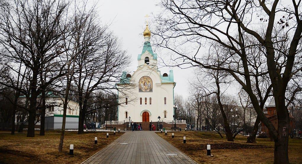 Патриарх Кирилл освятил единственный в мире храм в честь святителя Иова