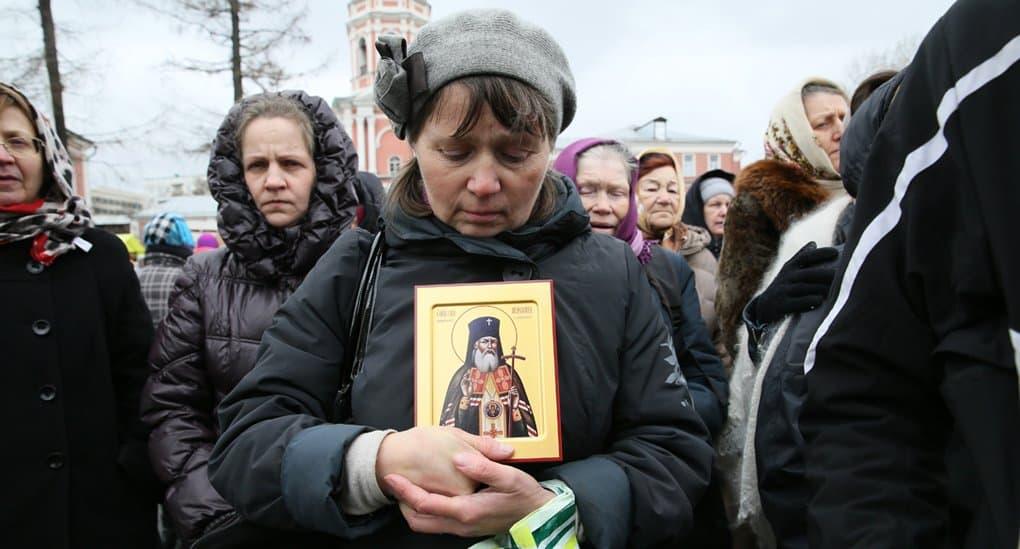 Храму на юго-западе Москвы передадут частицу мощей святителя Луки Крымского