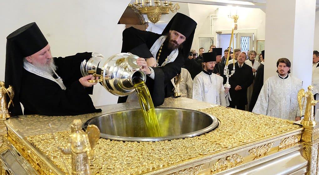 В Русской Церкви началась подготовка к варению мира
