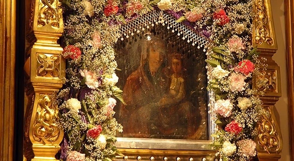 Церковь чтит икону Божией Матери «Споручница грешных»