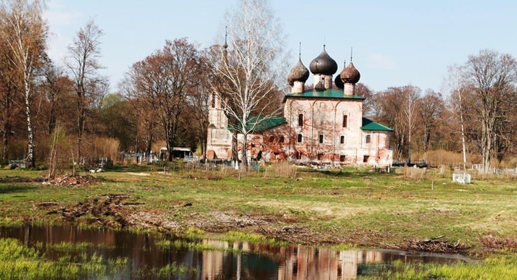 Под Ярославлем отреставрируют храм, в котором крестили Федора Ушакова