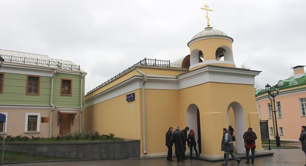Храм при Новой Екатерининской больнице Москвы передали Церкви