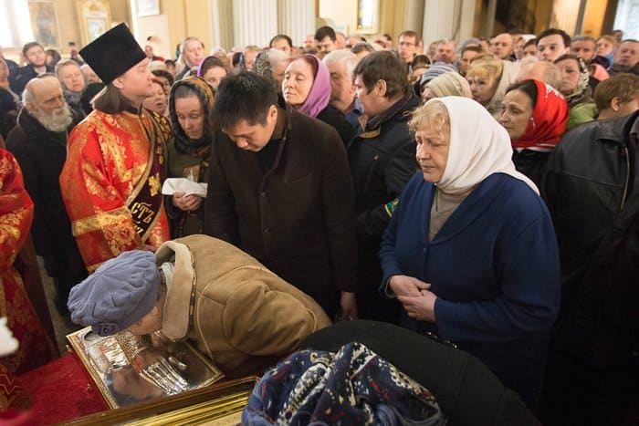 В Петербурге встретили мощи святой Елизаветы Федоровны
