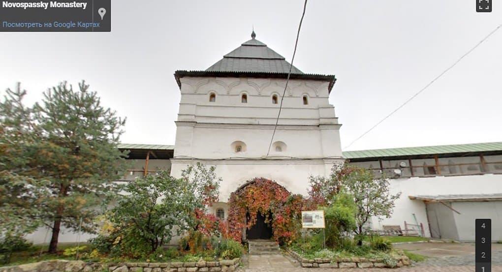 По Новоспасскому монастырю можно прогуляться онлайн