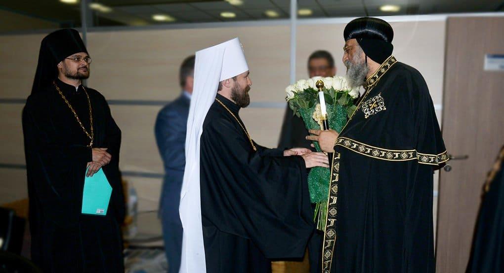 В Россию прибыл Коптский Патриарх Тавадрос II