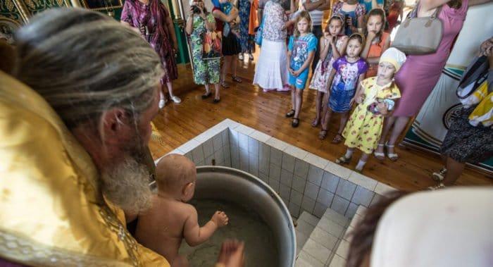 Священный Синод разрешил крестить с сохранением национального имени