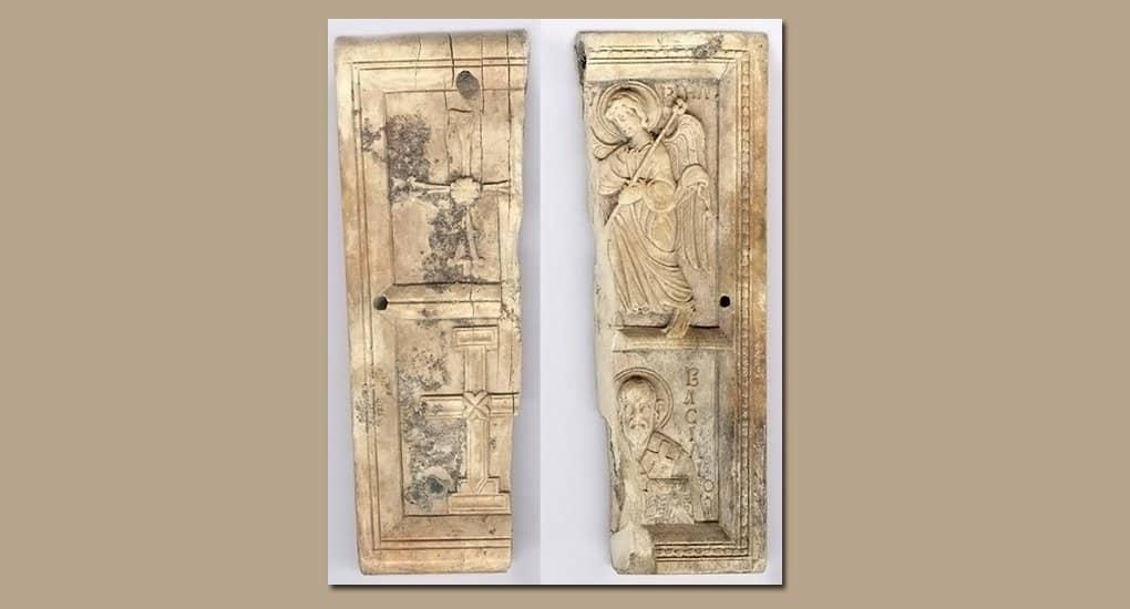 Редчайшая икона Х века из слоновой кости найдена в Болгарии