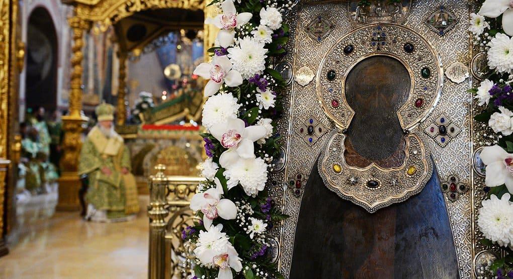 В день памяти Сергия Радонежского Патриарх совершит Литургию в Троице-Сергиевой лавре