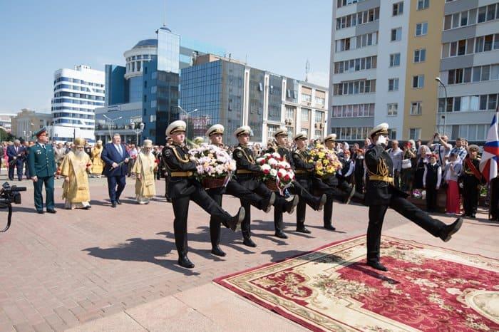 200-летие преставления Феодора Ушакова отметили в Саранске