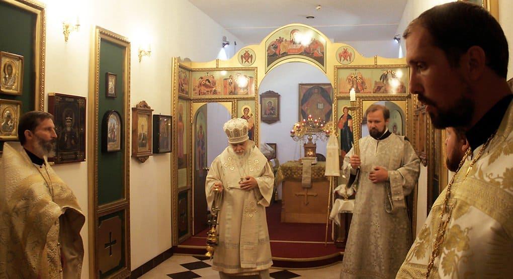 В столичной больнице Центросоюза России освятили храм
