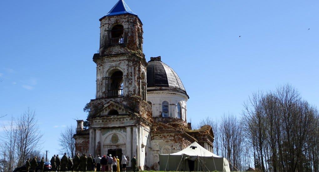 В новгородском селе восстановят храм, построенный Александром Суворовым