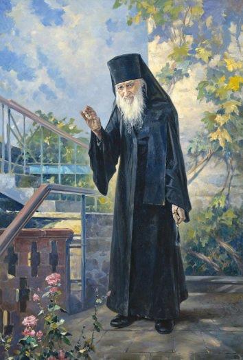 Художник Василий Нестеренко подарил Москве картины о жизни афонских монахов