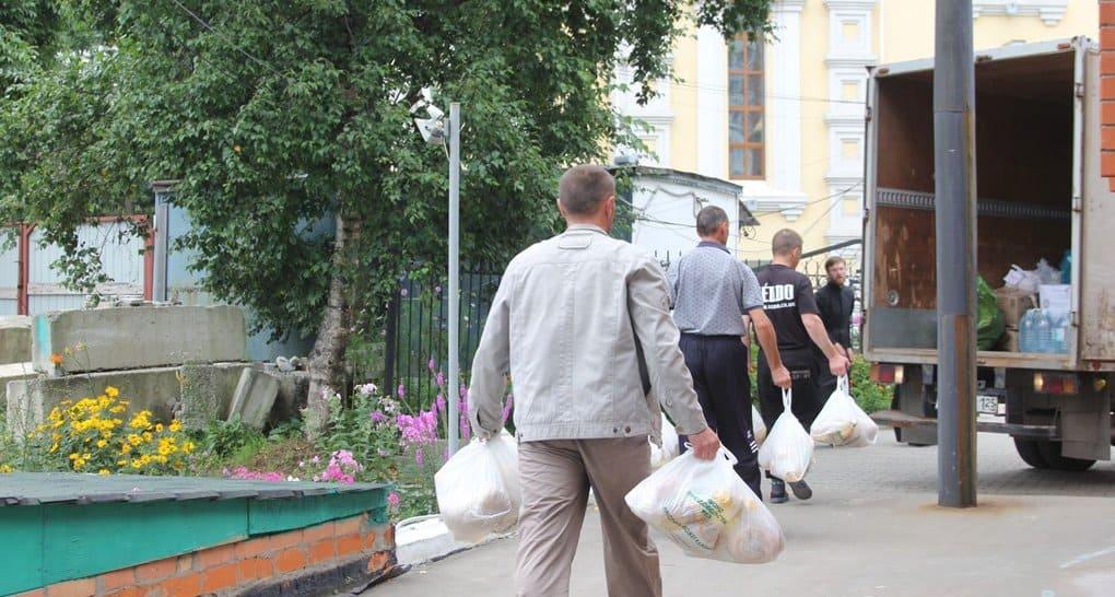 Церковь передает помощь подтопленным поселкам Приморья