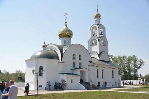 В тувинском Туране впервые более чем за век открыли новый храм